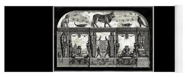Egyptian Revival Print By Giovanni Piranesi 1769 Yoga Mat