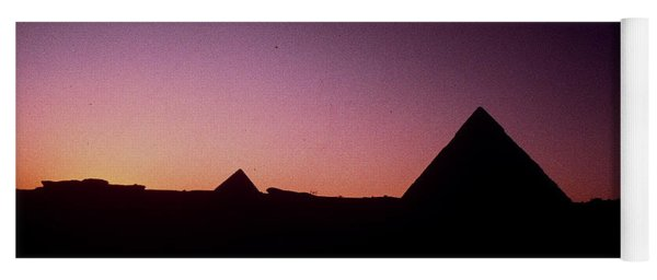 Egyptian Sunset Yoga Mat