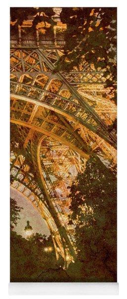 Paris, France - Eiffel Oldplate II Yoga Mat