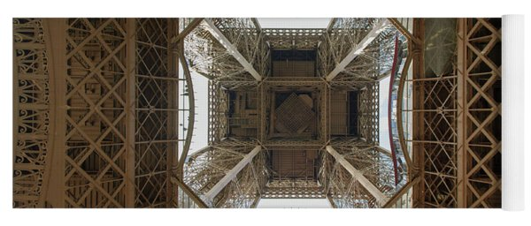 Eiffel Tower Abstract Yoga Mat
