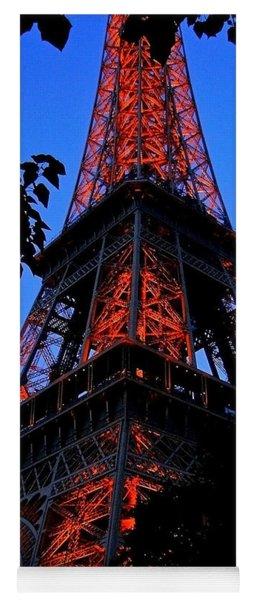 Eiffel Tower Yoga Mat