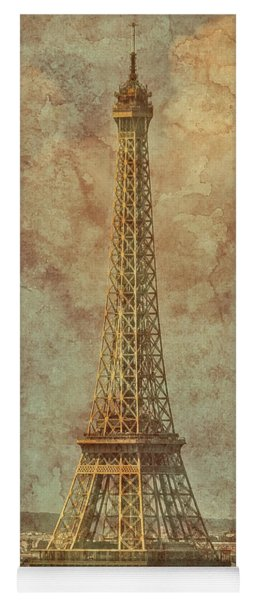 Paris, France - Eiffel Tower Yoga Mat