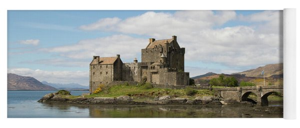 Eilean Donan Castle - Scotland Yoga Mat