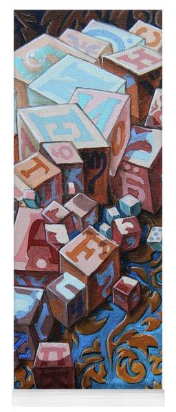 Einstein. Cubes. Op.2767 Yoga Mat