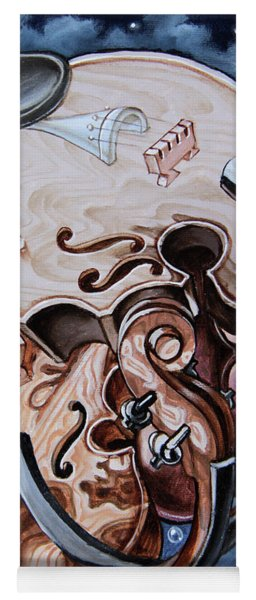 Einstein's Violin. Op.2763 Yoga Mat