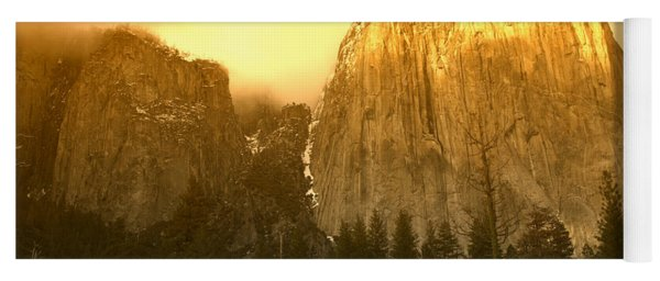 El Capitan Yosemite Valley Yoga Mat