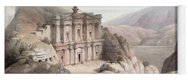 El Deir Petra 1839 Yoga Mat