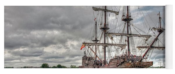 El Galeon Andalucia In Portsmouth Yoga Mat