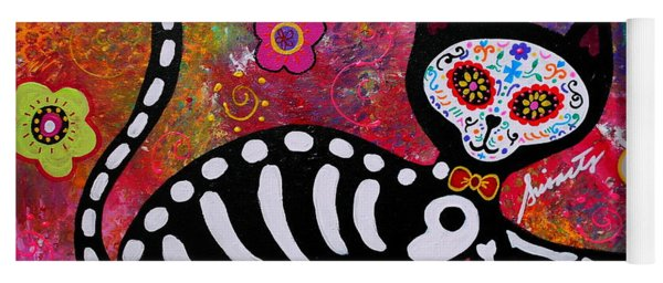El Gato 2 Day Of The Dead Yoga Mat