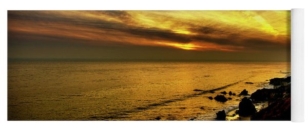 El Matador Beach Sunset Yoga Mat