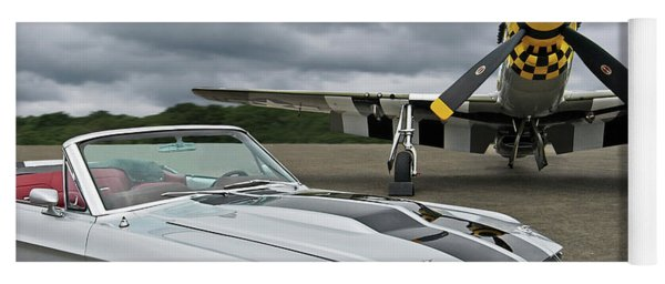 Eleanor Mustang With P51 Yoga Mat