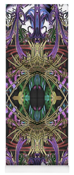 Electric Eye 2 Yoga Mat
