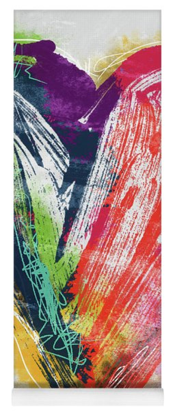 Electric Love- Expressionist Art By Linda Woods Yoga Mat