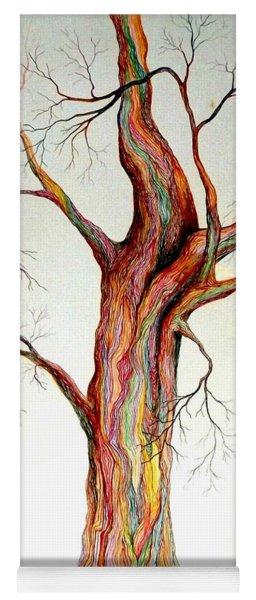 Electric Tree Yoga Mat