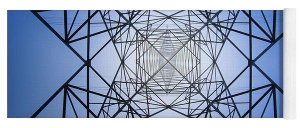 Electrical Symmetry Yoga Mat