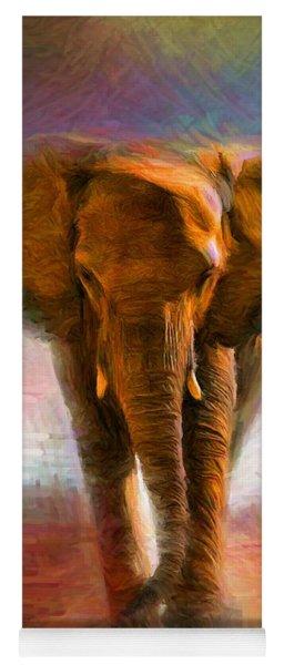 Elephant 1 Yoga Mat