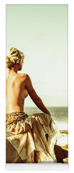 Elegant Classical Beauty  Yoga Mat