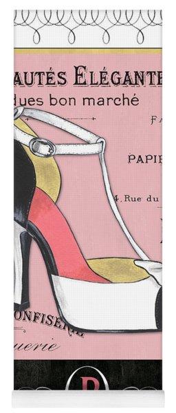Elegant French Shoes 1 Yoga Mat
