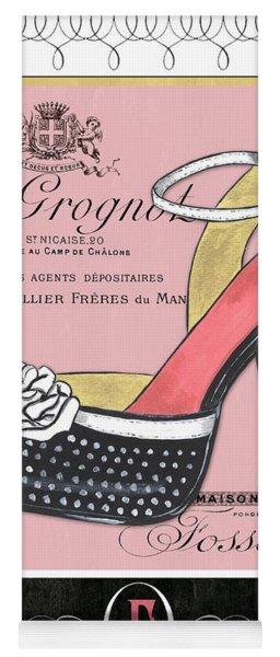 Elegant French Shoes 2 Yoga Mat
