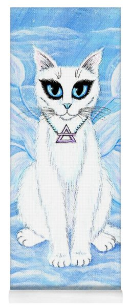 Elemental Air Fairy Cat Yoga Mat