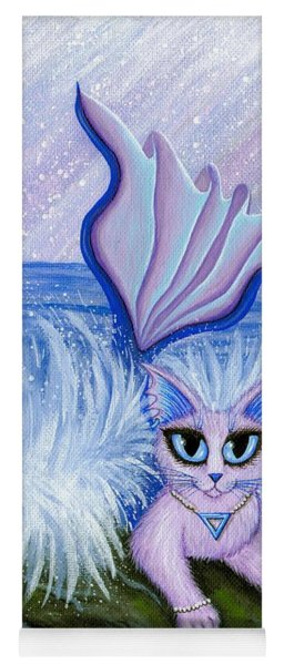 Elemental Water Mermaid Cat Yoga Mat
