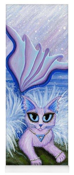 Elemental Water Mermaid Cat Yoga Mat