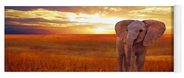 Elephant Baby Yoga Mat