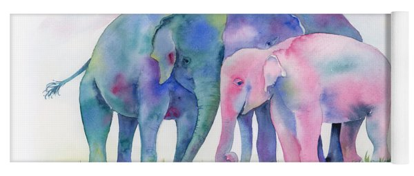 Elephant Hug Yoga Mat