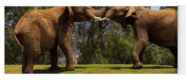 Elephant Play 3 Yoga Mat