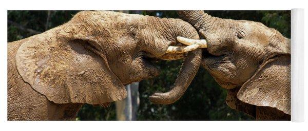 Elephant Play Yoga Mat