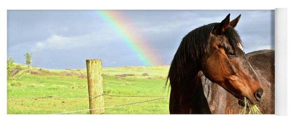 Ella And The Rainbows Yoga Mat