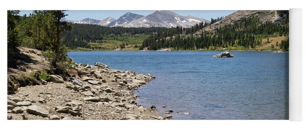 Ellery Lake Tioga Pass Yosemite California Dsc04318 Yoga Mat