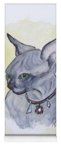 Else The Sphynx Kitten Yoga Mat