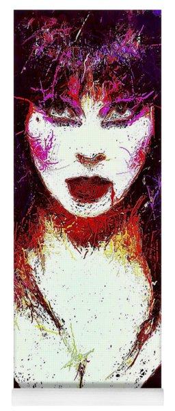 Elvira Mistress Of The Dark Yoga Mat
