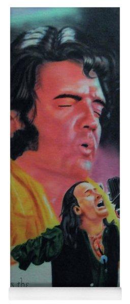 Elvis And Jon Yoga Mat