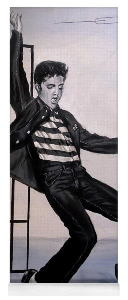 Elvis Presley Jailhouse Rock Yoga Mat