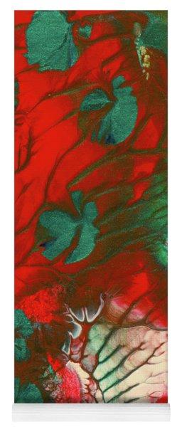 Emerald Butterfly Island Yoga Mat