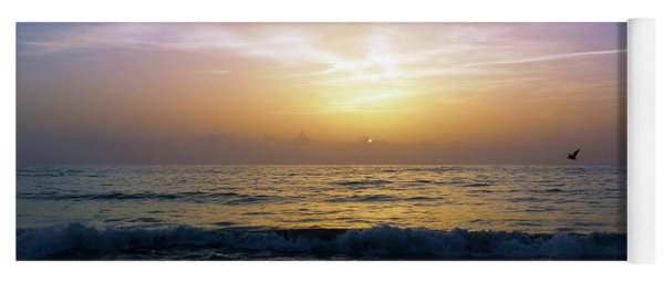 Emerald Coast Florida Tropical Sunset Seascape B3 Yoga Mat