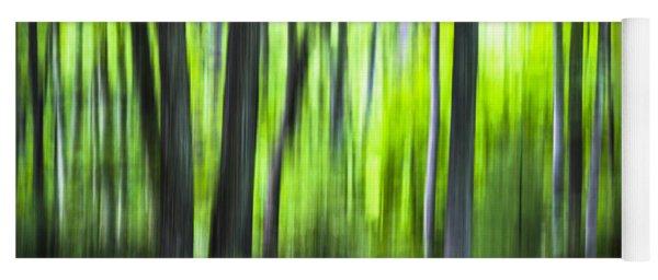 Green Forest - North Carolina Yoga Mat