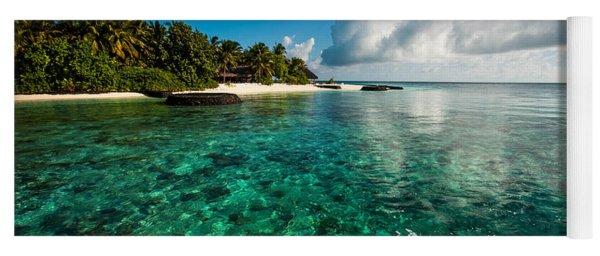 Emerald Purity. Maldives Yoga Mat