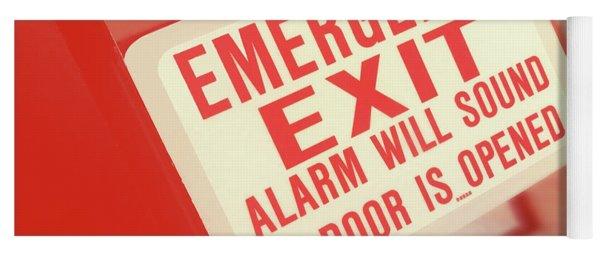 Emergency Yoga Mat