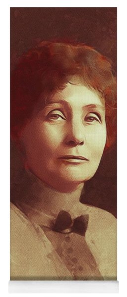 Emmeline Pankhurst, Suffragette Yoga Mat
