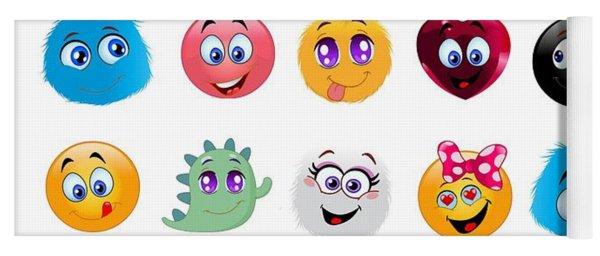 Emoji - Emoticons Yoga Mat