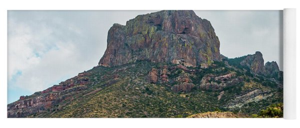 Emory Peak Chisos Mountains Yoga Mat