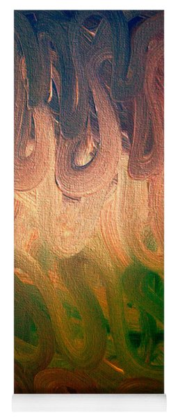 Emotion Acrylic Abstract Yoga Mat