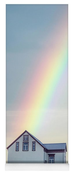 End Of The Rainbow Yoga Mat