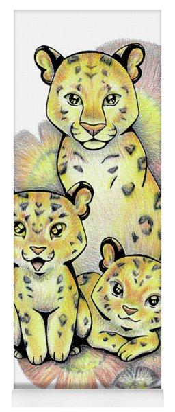 Endangered Animal Amur Leopard Yoga Mat