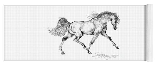Endurance Horse Yoga Mat