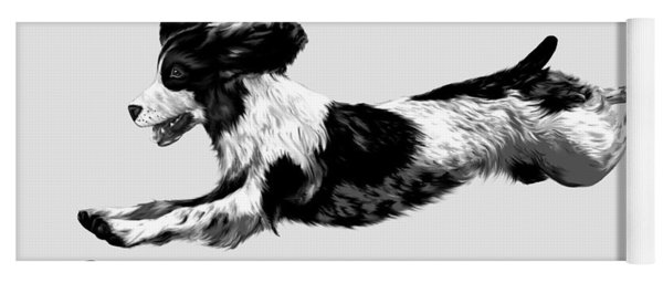 English Springer Spaniel Yoga Mat