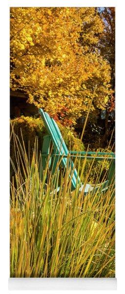 Enjoy The Warm Autumn Sunshine Yoga Mat